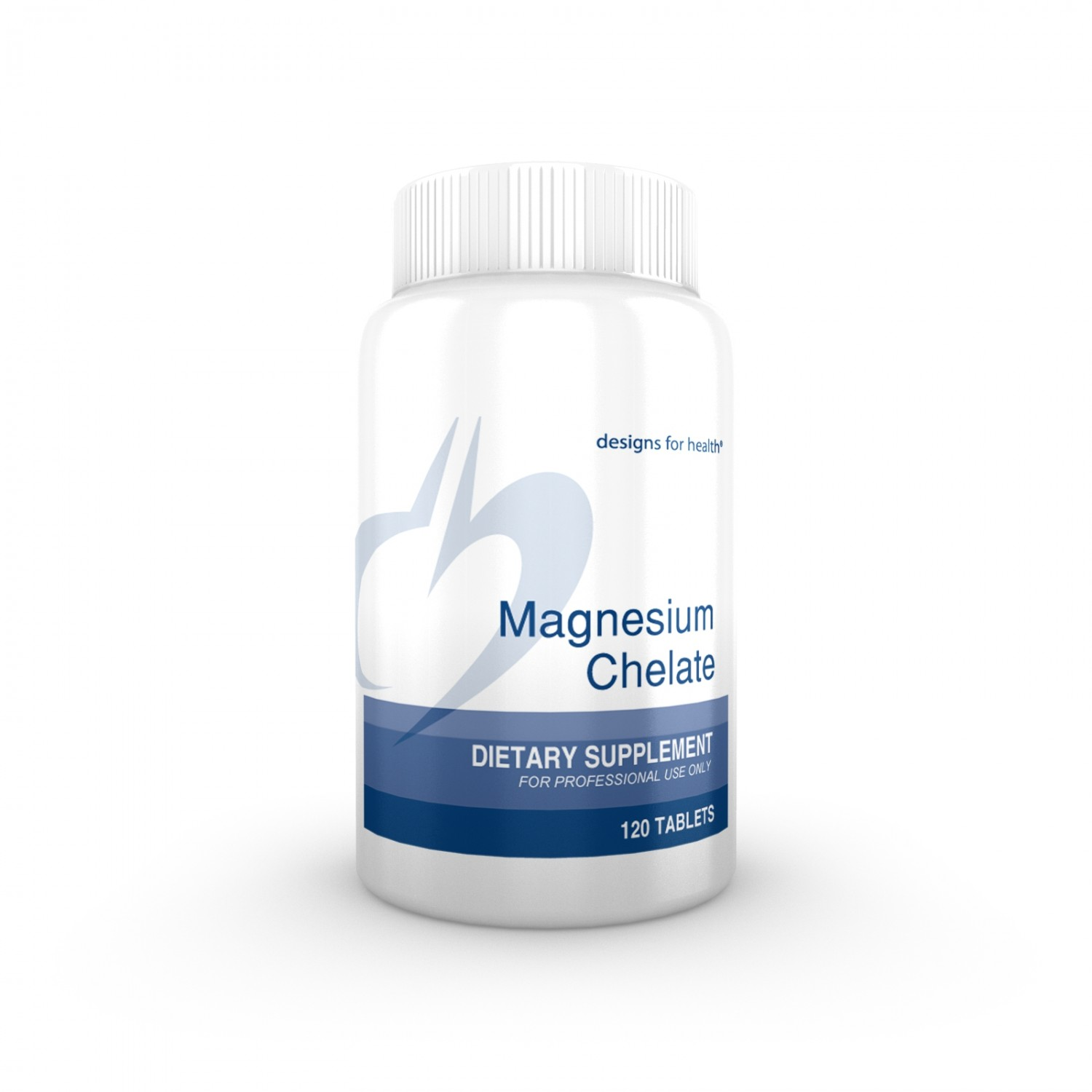 DESIGNS FOR HEALTH -Magnesium Chelate 200 mg - 120 caps