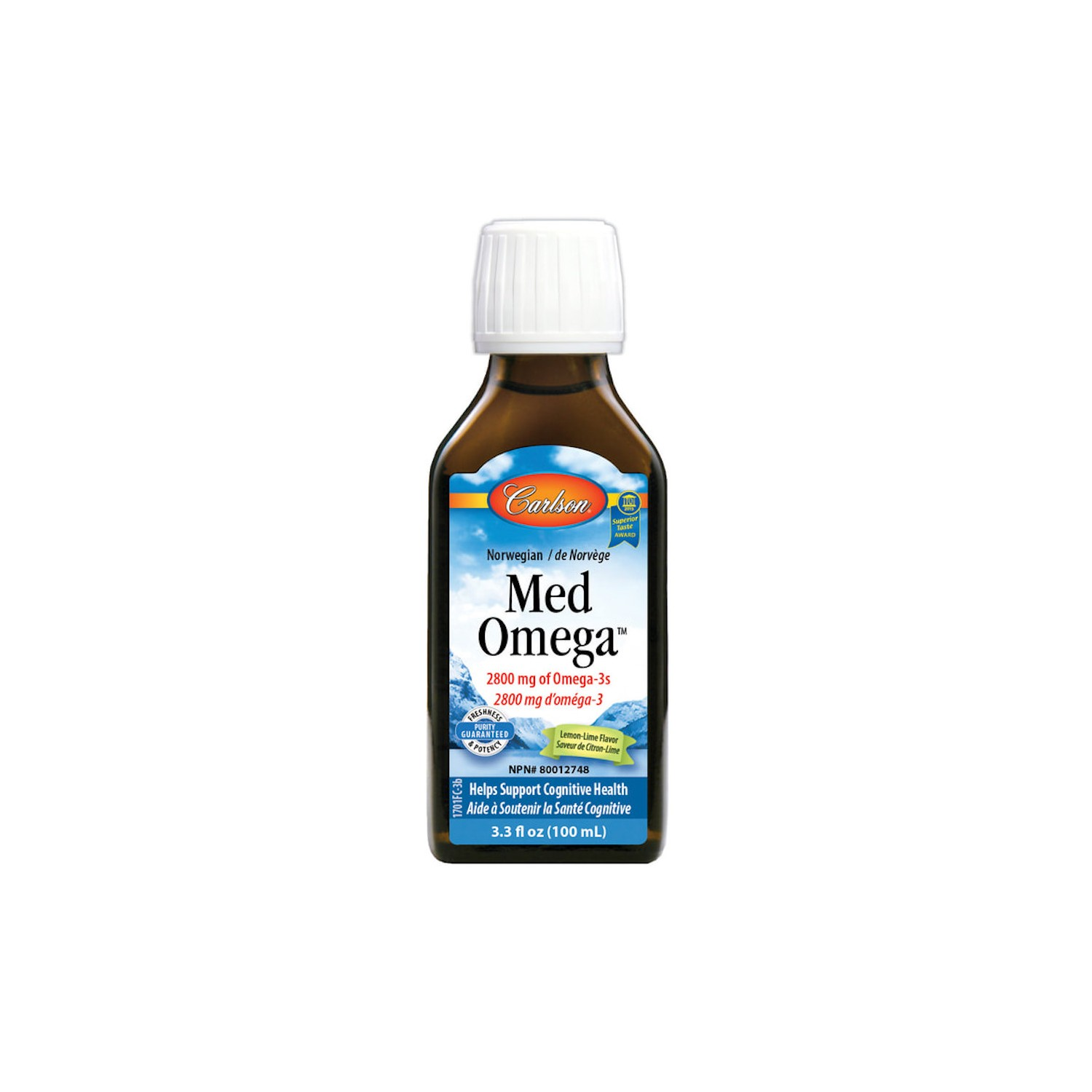 CARLSON LABS - Med Omega™ - 100 mL