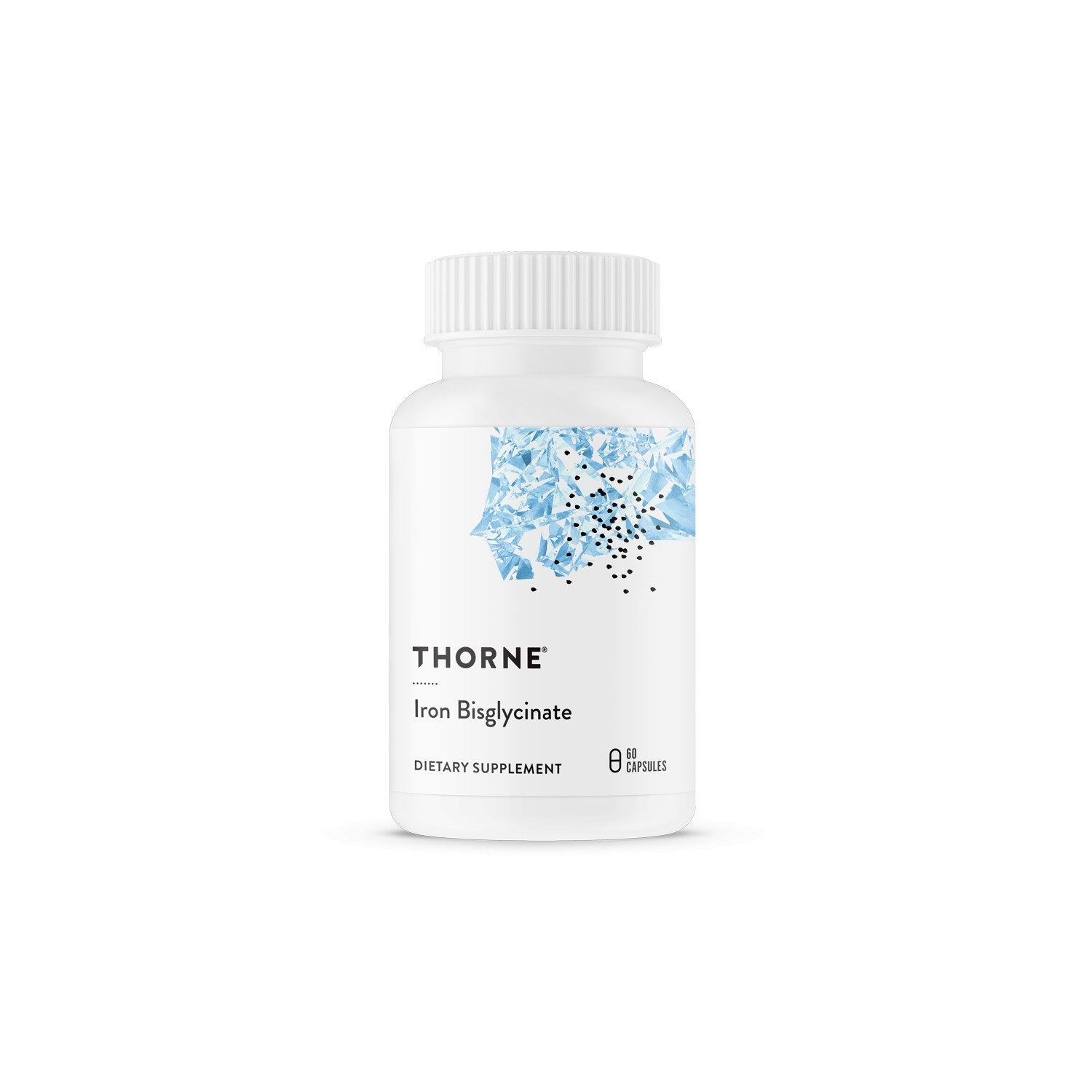 THORNE RESEARCH - Iron Bisglycinate 25 mg - 60 caps